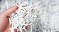 Paper shredder types of cuts