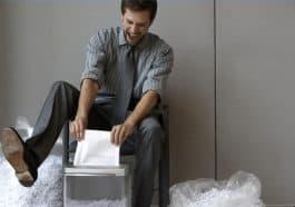 paper shredder not working