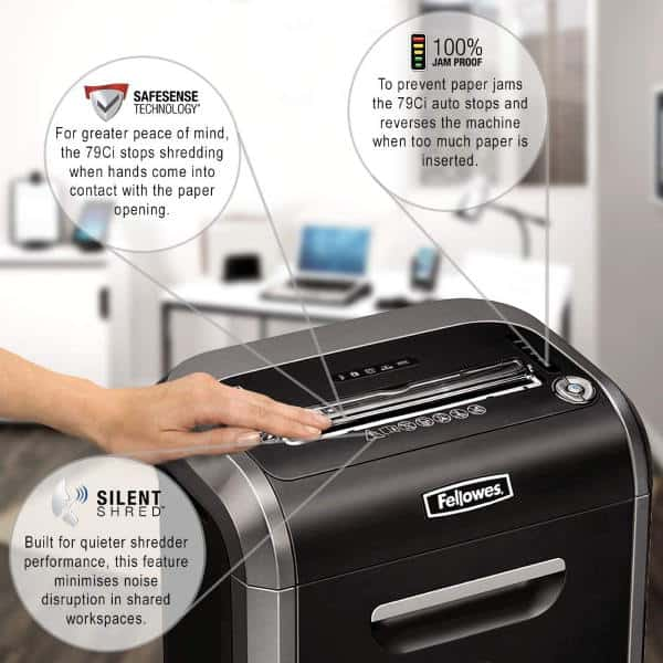 Fellowes Powershred 79Ci features