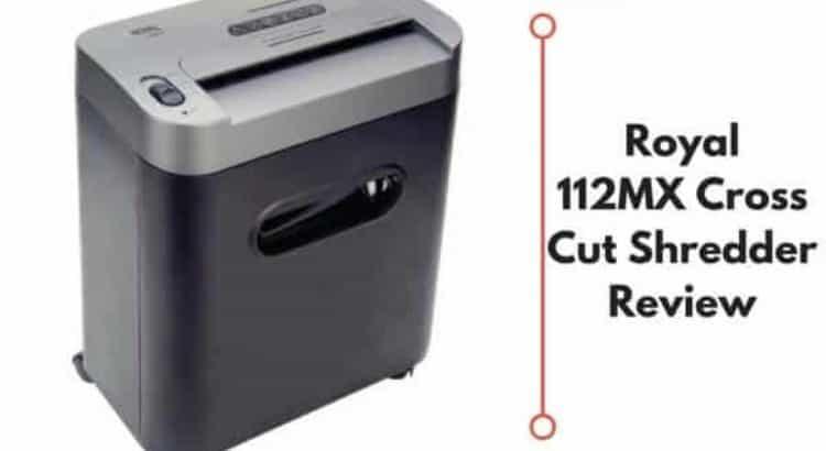Royal 112MX Cross Cut Shredder featured
