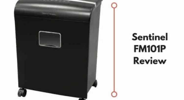 Sentinel FM101P Paper Shredder featured
